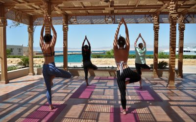 Escape to Egypt on a luxury yoga retreat on the Red Sea