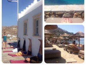 yoga retreat mykonos greece afar article