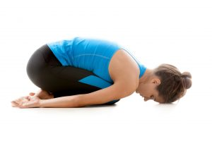 childs pose yin yoga