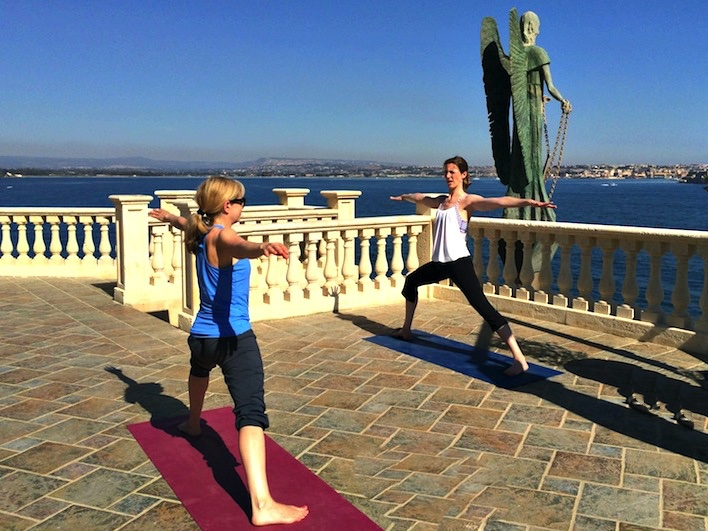 A week in Sicily on a luxury yoga retreat