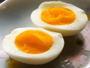 boiled egg is a great snack