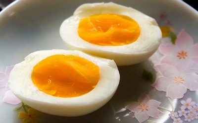 Boiled eggs, the perfect snack.
