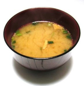 miso soup as a healthy quick snack