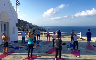 Luxury Yoga Retreat in Mykonos Greece