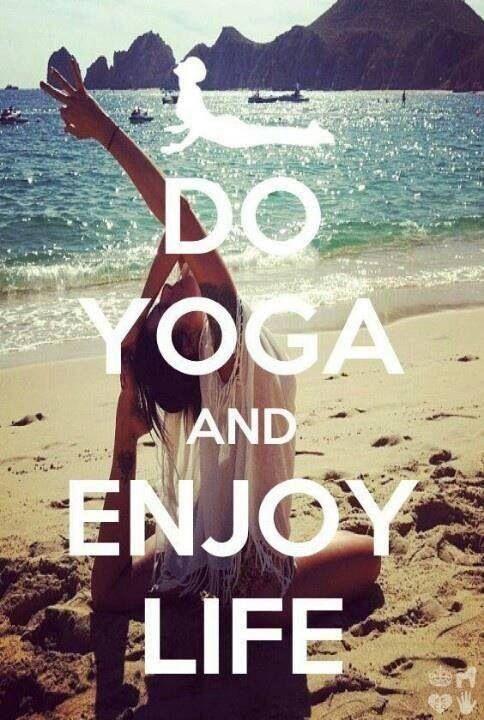 yoga enjoy life