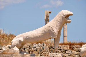 day trip to delos on a yoga retreat in mykonos