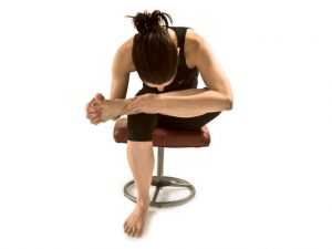 seated hip opener at your desk