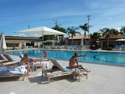 Poolside in Sicily