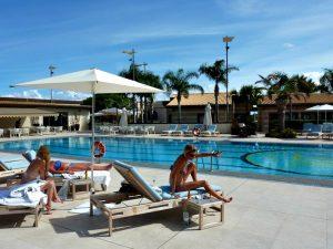 poolside sicily luxury yoga retreat