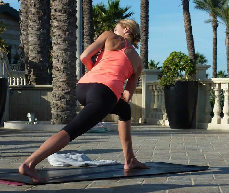 Get into shape for the summer with yoga