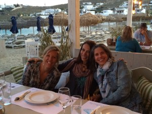 Fun times on our yoga retreats in Greece and Italy.