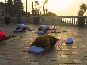Yin yoga to lose weight