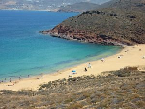 agio sostiene beach mykonos greece with yoga escapes
