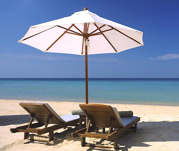 beach in soma bay egypt on a luxury yoga retreat