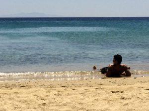 elia beach on mykonos yoga escapes