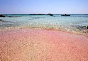 elafonissi beach in crete greece