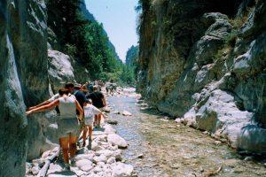 samaria gorge in crete greece