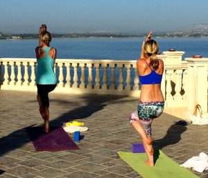 balances yoga poses in sicily