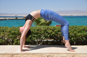 bridge pose egypt luxury yoga retreat