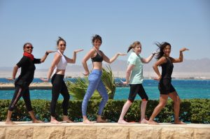 yoga fun times in egypt with escapes