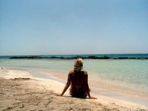 Elafonissi Beach Relaxing in Crete