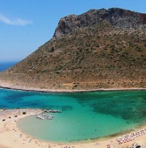 Starves Beach near Chania Crete