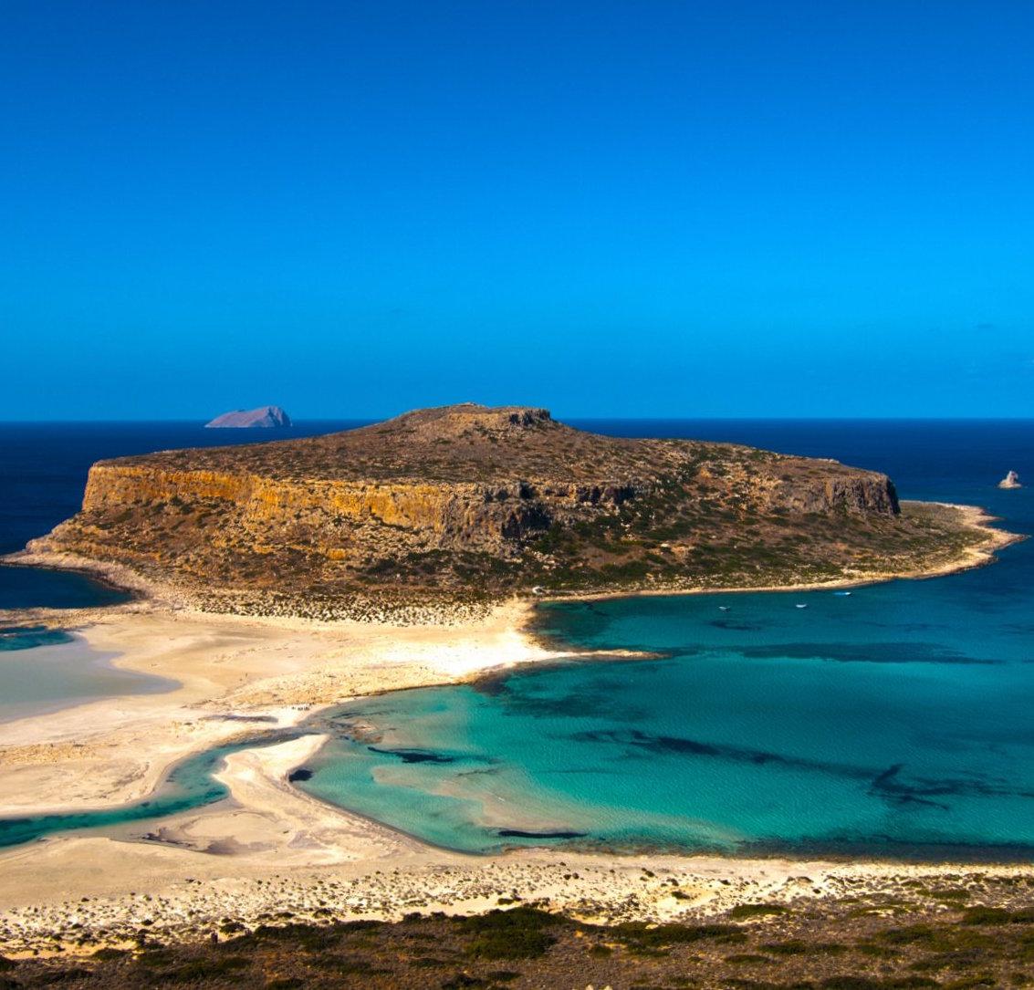 Desert Island Beach: 4 Beautiful Beaches On Crete Greece