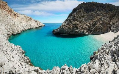 4 Beautiful Beaches on Crete Greece