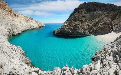 4 Beautiful Beaches on Crete Greece