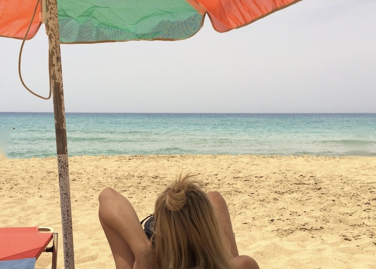 relaxing-on-falasarna-beach-crete