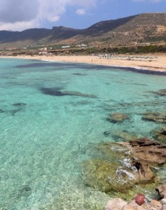 Yoga Holiday at Falasarna Beach in Western Crete