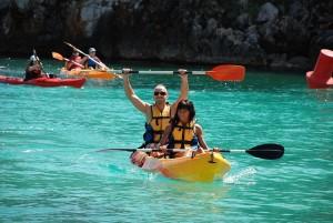 Menorca kayaking