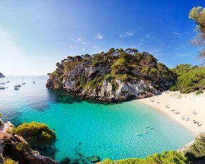 gorgeous beaches in spain on a luxury yoga retreat