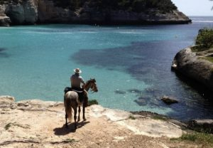horseback riding in menorca spain