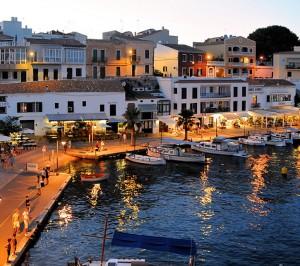 Menorca at night
