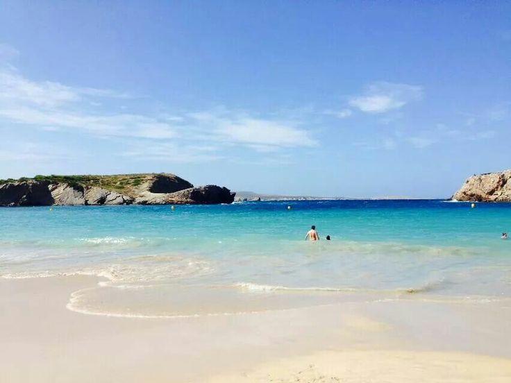 Menorca beach at Yoga Escapes