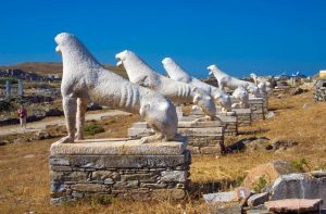 day trip to delos on a yoga retreat in mykonos