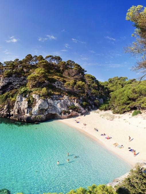 Menorca Spain luxury beach getaway