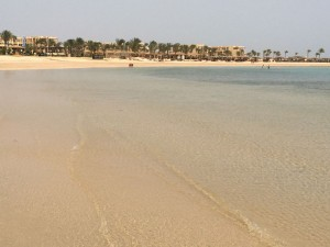 Red Sea Sand Egypt Yoga Retreat