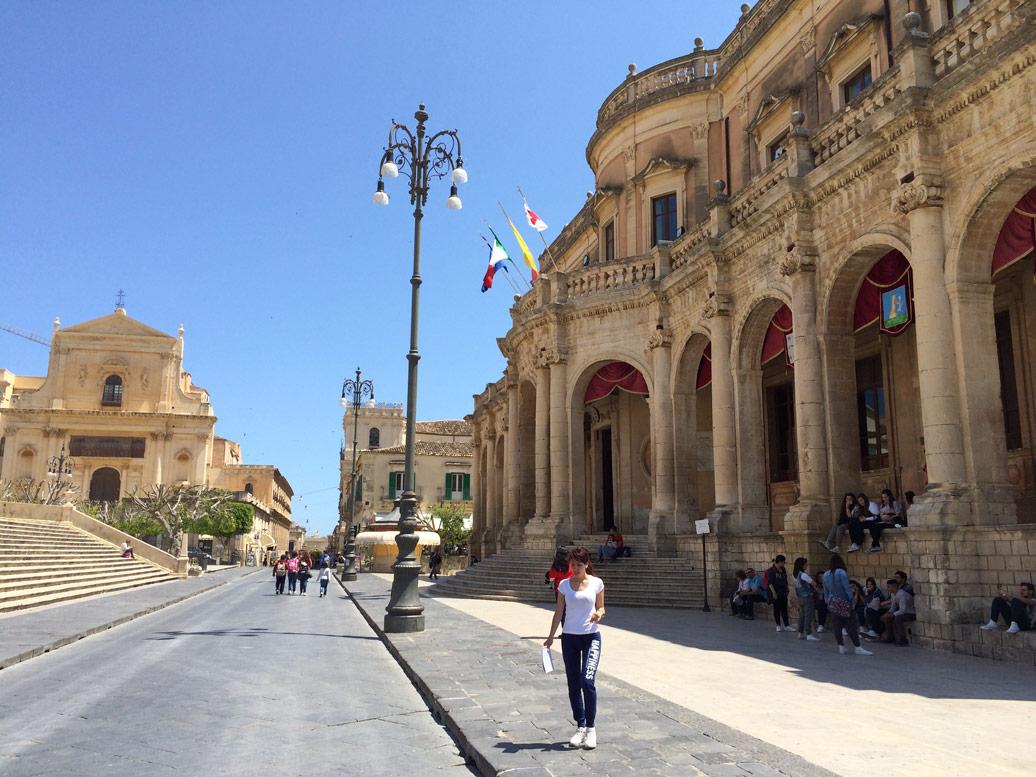 Architecture in the Yoga Retreat of Sicily