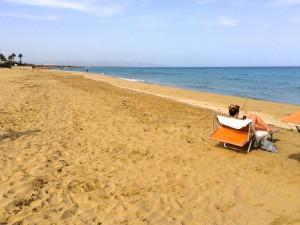 beach peace stillness italy
