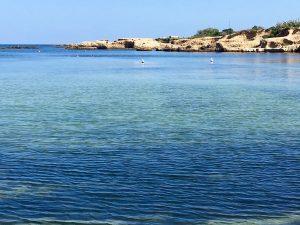 beautiful beach in sicily italy on a luxury yoga retreat