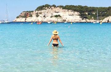 Beachtime in Menorca