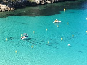 boat trips and sailing in menorca