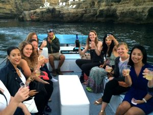 boat trip in sicily italy with yoga escapes