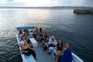 Boat trip Sicily Italy Sunset Yoga Ecapes