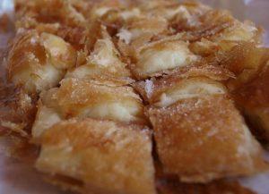Bougatsa pastry enjoyed in Crete