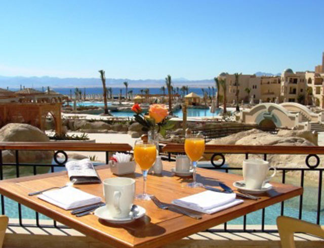 Breakfast at Kempinski Hotel