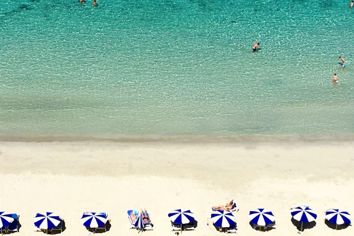 cala galdana beach in menorca spain