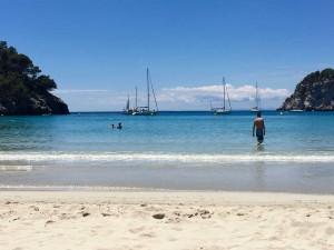 Cala Galdana beach, Menorca.
